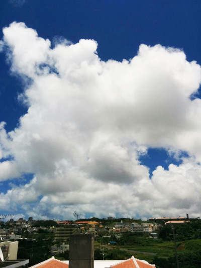 綺麗な空ですね~、良いですね~