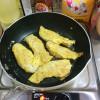 勢いでササミのチーズピカタを作ってみた。