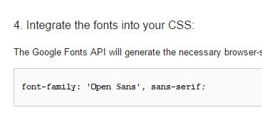 font-familyを付け足そう!