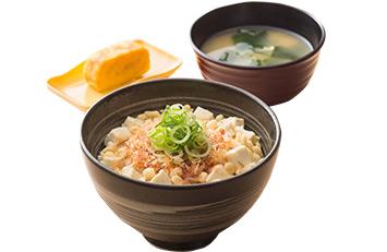 吉野家の豆腐ぶっかけ飯