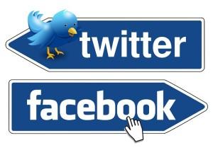 Twitter・Facebookの使用目的は分ける!