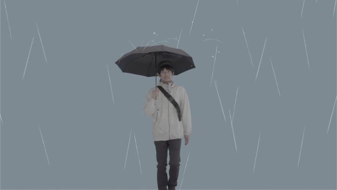 こんな折りたたみ傘を待ってた!一振りで収納!超撥水傘 Nu-Rain(ヌレイン)